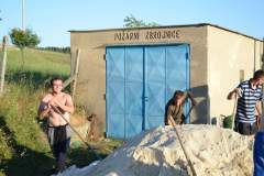 Brigáda - rozvoz písku